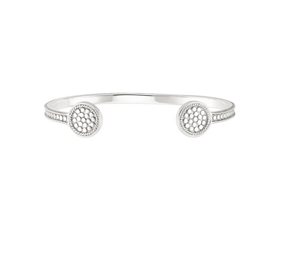 Signature Beaded Circle Open Cuff