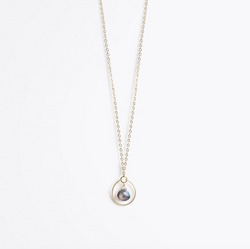 Petite Stells Orb Gold Chain Necklace