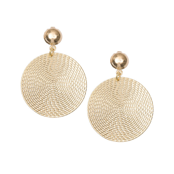 Selene Gold Earrings