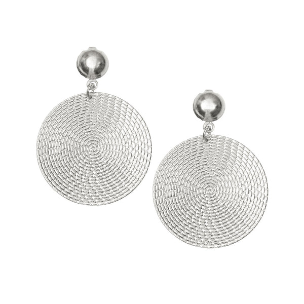 Selene Silver Earrings