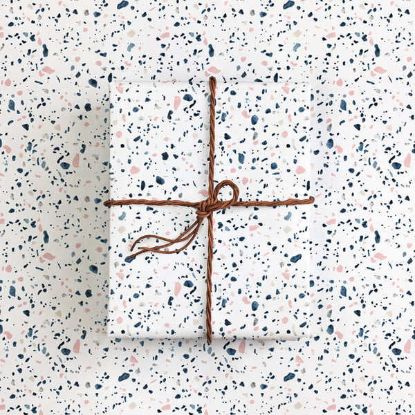 All the ways to say - Terrazzo Gift Wrap
