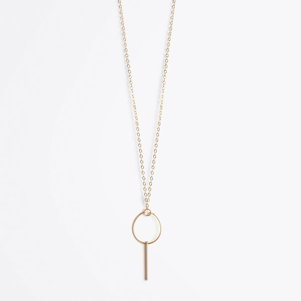 Aktis Bar Stella Orb Necklace
