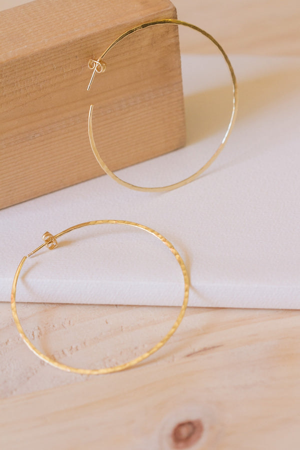 Aro 6 Earrings - gold