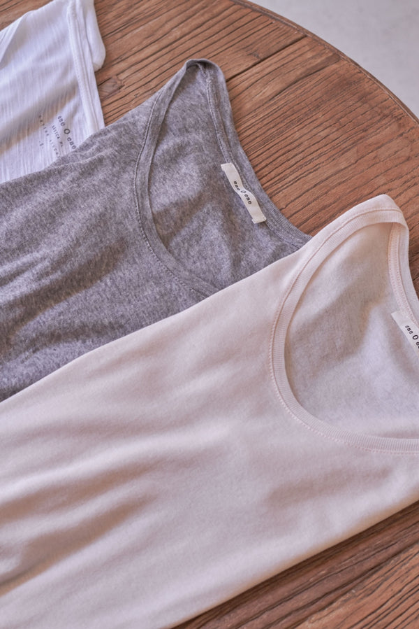 Basic long-sleeve t-shirt grey