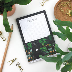 Plant Shop Notepad