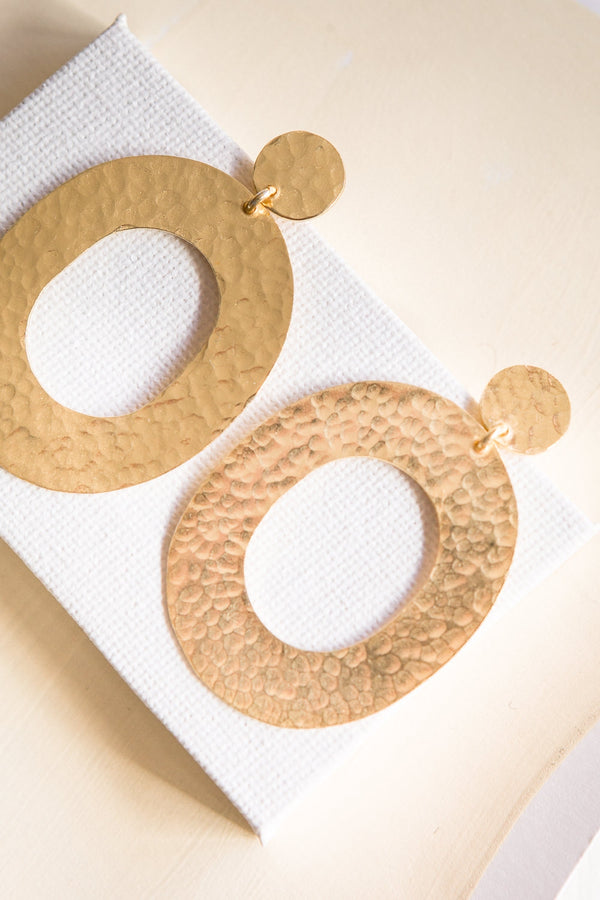 Valentine Earrings - gold