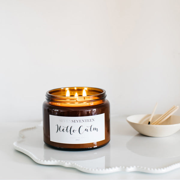 Hello Calm Candle - 500 ml