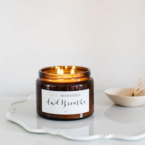 And Breathe Candle - 500 ml