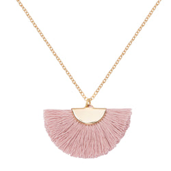 Theia Blush Necklace - Long