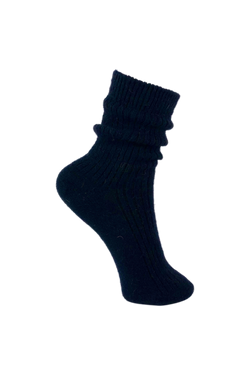 Ronja Wool Socks - Navy