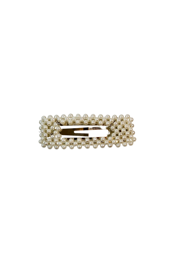 Pearl Rectangle Hairclip