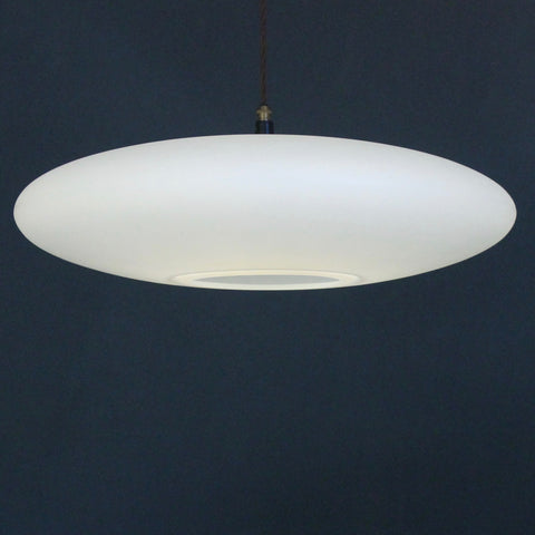 contemporary pendant lighting, Ethel Inverse Lampshade, White light dark background, Scandinavian design, elegant timeless lighting, large pendant lighting,