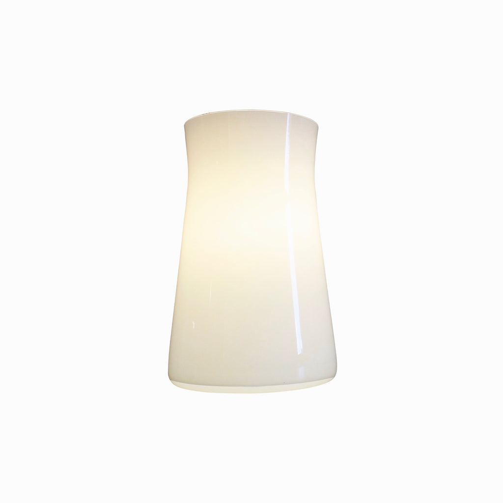 Waisted Table lamp, White