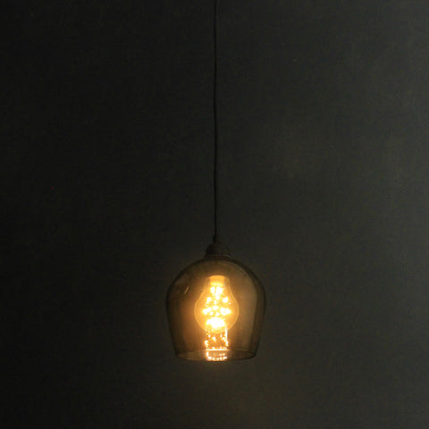 Bell Bathroom IP44 Honey, Dark room bathroom pendant, Glass IP44 Pendant lighting, Bathroom Pendant lighting