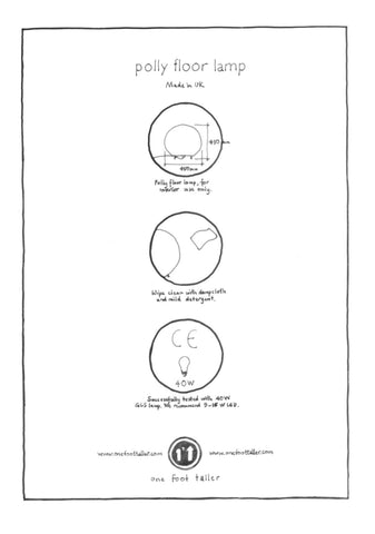 Polly Floor Lamp Instructions