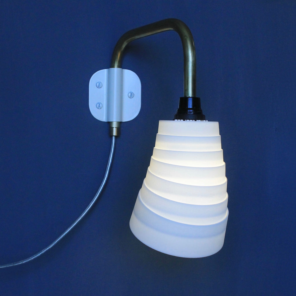 contemporary lighting, bedside, modern, white, wall lighting