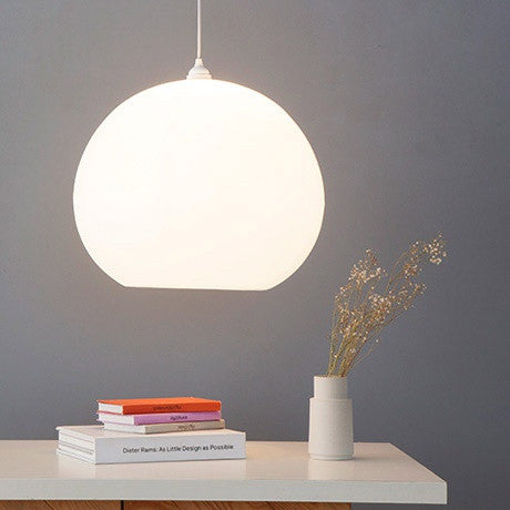 Polly Inverse Lampshade, large quality white lighting, contemporary pendant lighting, white lights, calm lighting, kitchen suspension, living room lighting