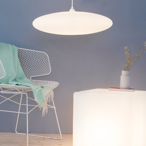 Contemporary elegant lighting, Ethel Inverse, One Foot Taller lighting, sleek design, simple to install