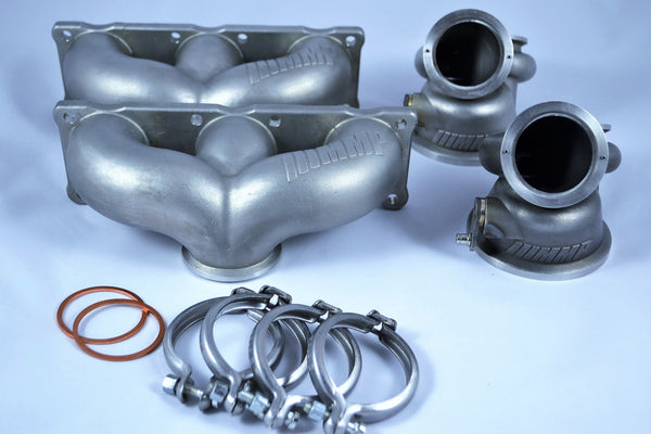 Stage 3 turbo upgrade manifold turbine housings