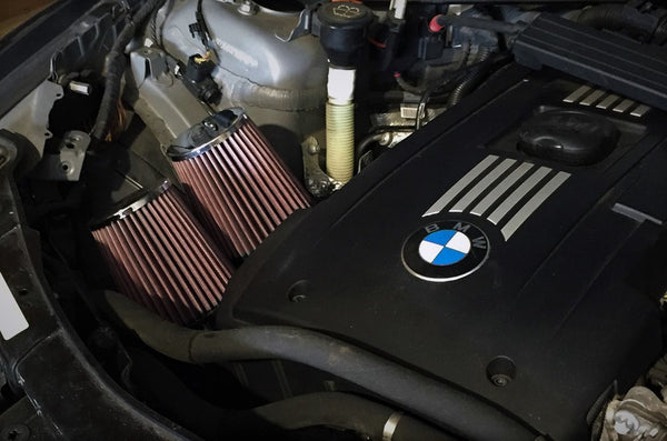 BMW N54 Relocation Aluminum Inlets