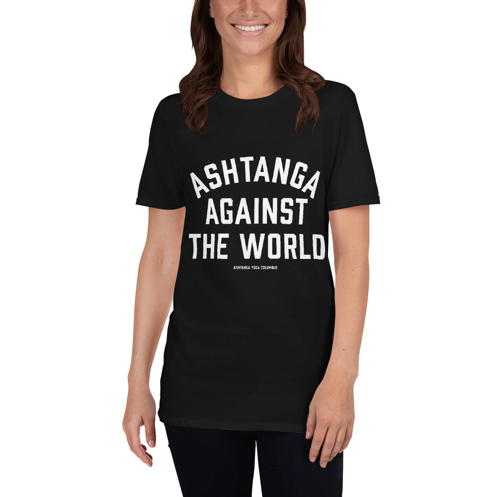 Ashtanga Against the World Short-Sleeve Unisex T-Shirt