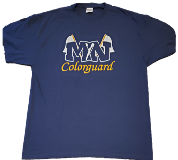 **Clearance** Colorguard T-shirt Short Sleeve and Long Sleeve