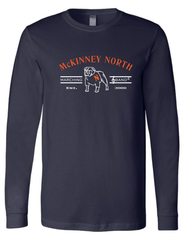 Bulldog Spirit - Long Sleeve Tee