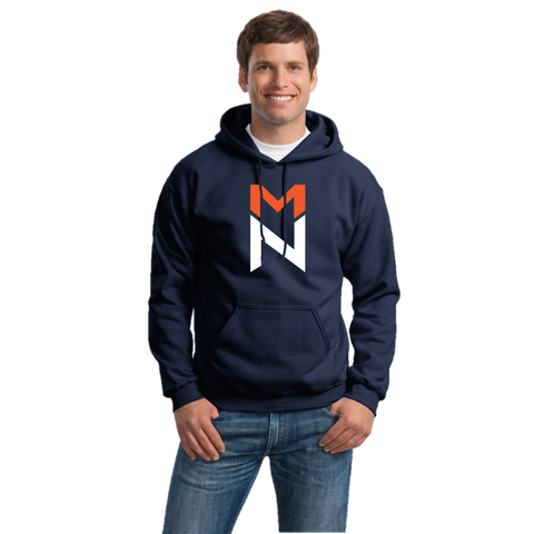 Navy Hoodie with Logo