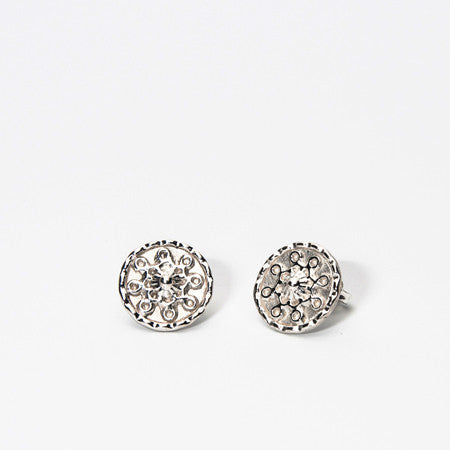 Antique Eternal Love Studs
