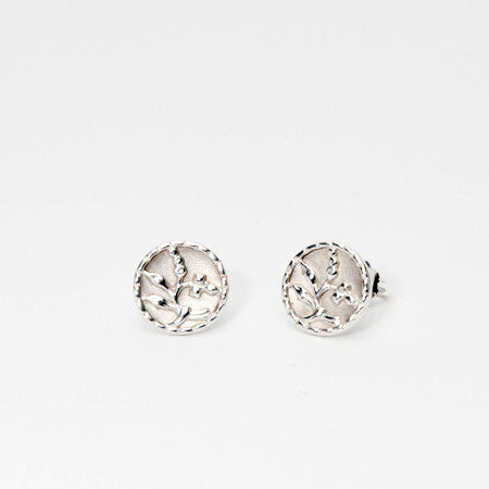 Antique In Bloom Studs