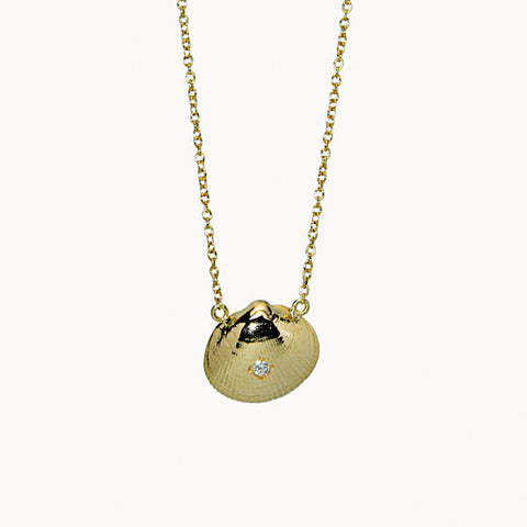 Unique 14K Gold Hampton Necklace