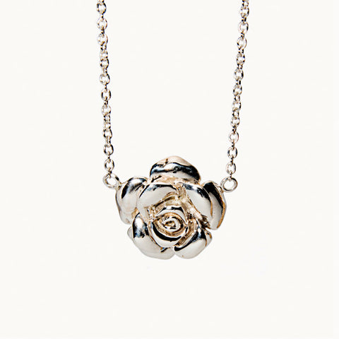 Floral Rose Necklace