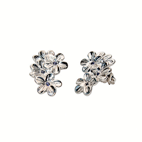 Floral Forget Me Not Studs