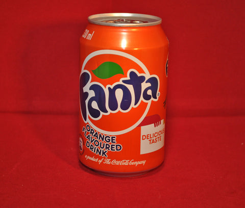Can of Fanta - Orange