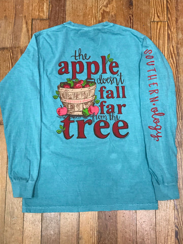 Apple Tree Southernology Comfort Color Long Sleeve Tee