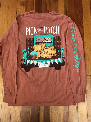 Pick of the Patch Southernology Comfort Color Long Sleeve Tee
