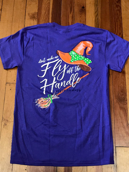 Fly Off the Handle Halloween Southernology Tee