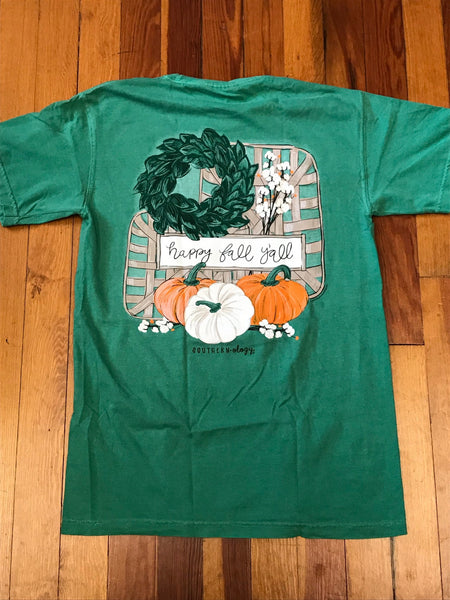 Happy Fall Y'all Southernology Comfort Color Tee