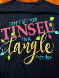 Don't Get Your Tinsel in a Tangle Southernology Comfort Color Tee