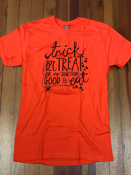 Trick or Treat Southernology Front Print Tee