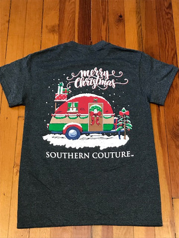 Merry Christmas Camper Southern Couture Tee