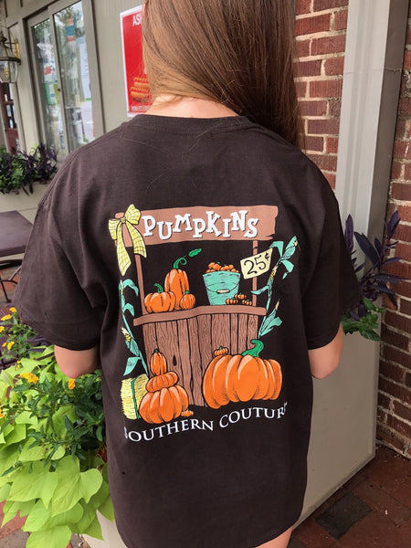 Pumpkin Stand Short Sleeve Tee