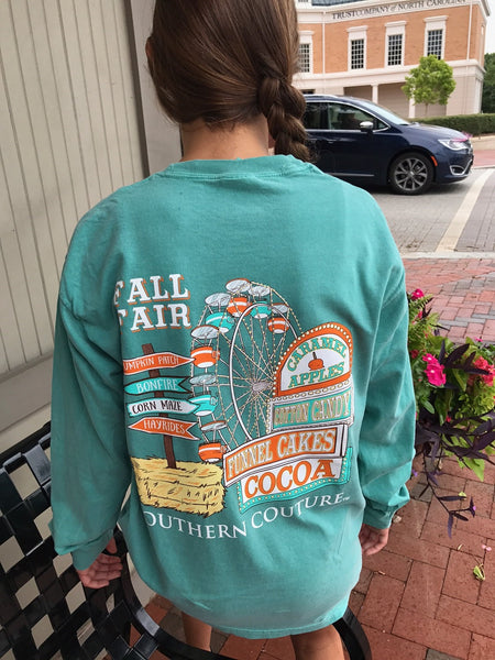 Fall Fair Comfort Color Long Sleeve Tee