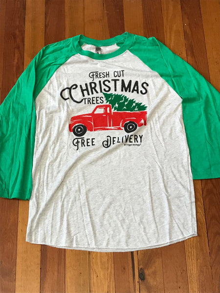 Fresh Cut Christmas Trees Tee
