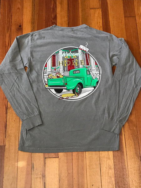 Welcome Home Comfort Color Long Sleeve Tee