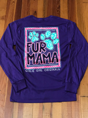 Fur Mama Long Sleeve Tee