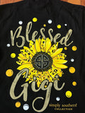 Blessed Gigi Simply Southern Long Sleeve Tee