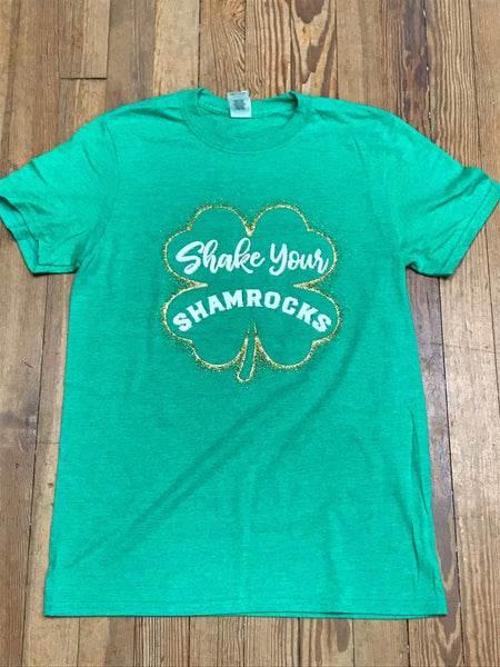 Shake Your Shamrocks Soft Tee