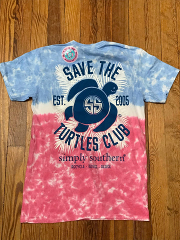 Save the Turtles Club Simply Southern YOUTH Tee