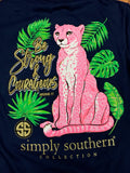 Be Strong & Courageous Simply Southern Tee